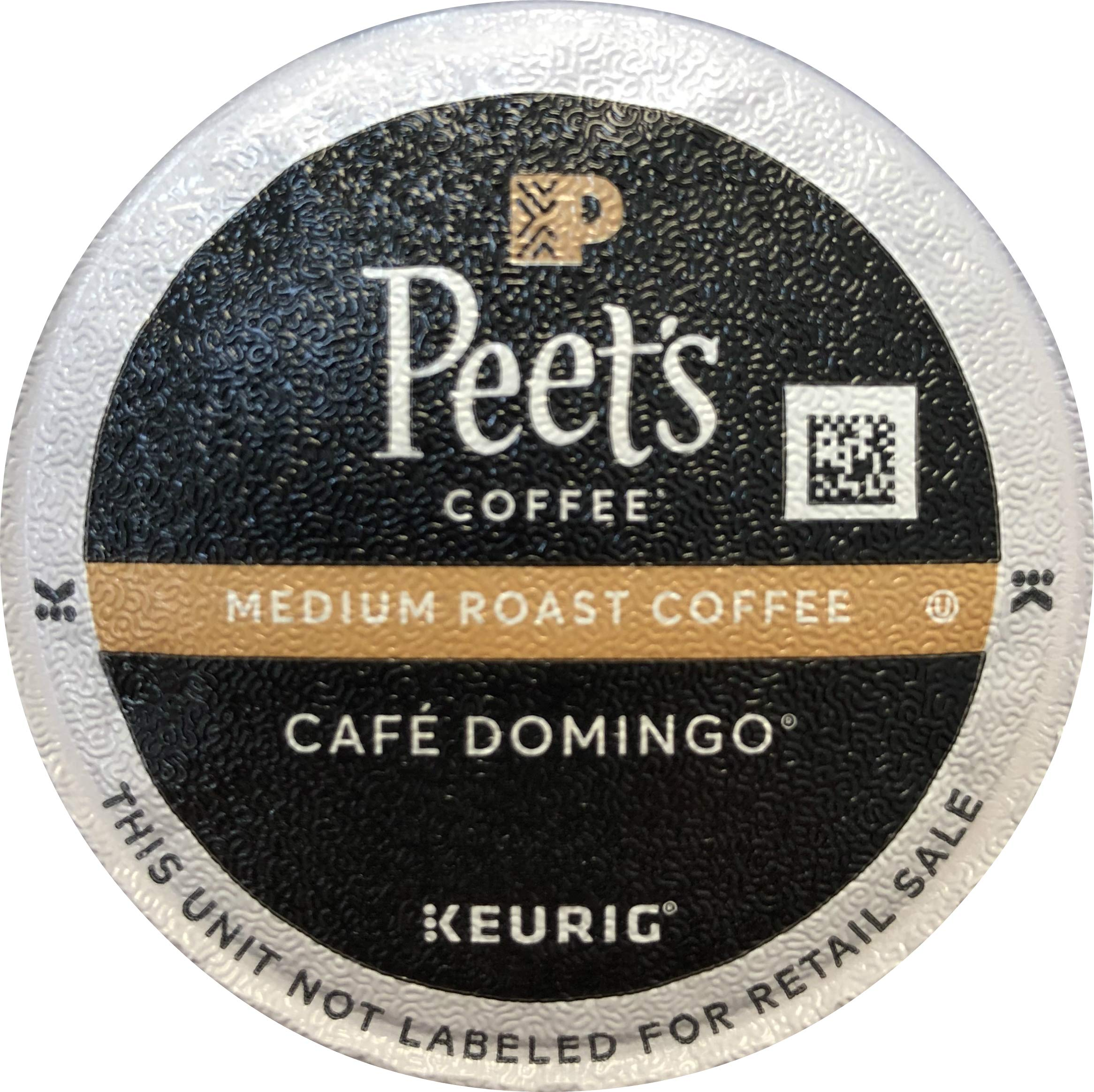 Peet's Coffee Cafe Domingo Single Cup Capsule (96 Count) by Peet's Coffee