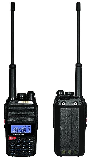 14 opinioni per Coodio C96 Walkie Talkie 5W VHF/UHF 2 x 128-Canali doppio Radio Ricetrasmittente