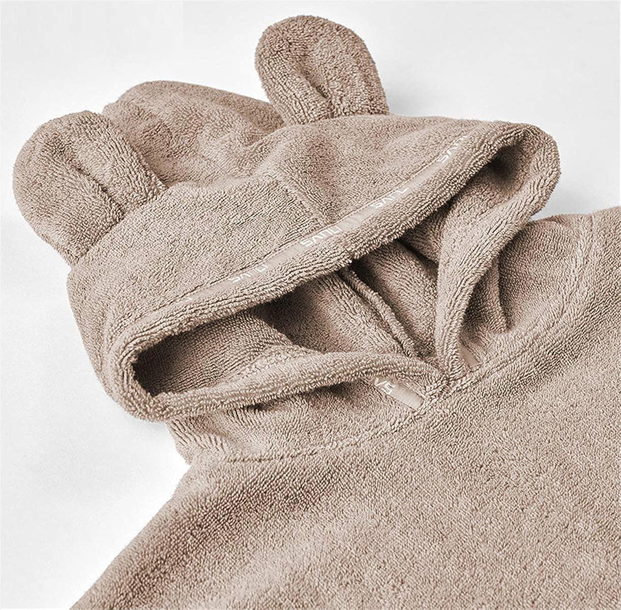 Ameyda Kids Boys Girls Bear Hooded Towel