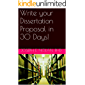 Write your Dissertation Proposal in 30 Days! (Smart Doctor Book 2) (English Edition)