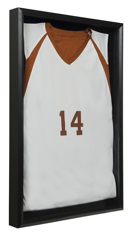 Amazon.de: Snap Jersey Wand Display Case Shadow Box, schwarz, 50, 8 ...