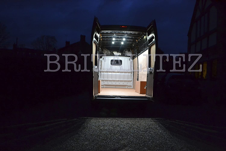 Plafoniere A Led Per Furgoni : Britalitez kit di illuminazione a led per area carico