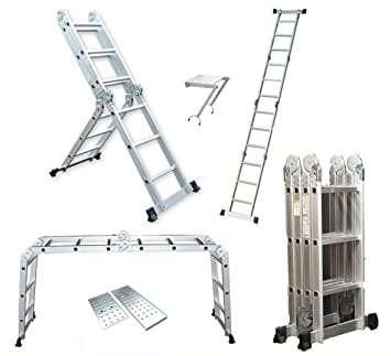 Image result for 4.7M Aluminium Multi-Purpose Ladder