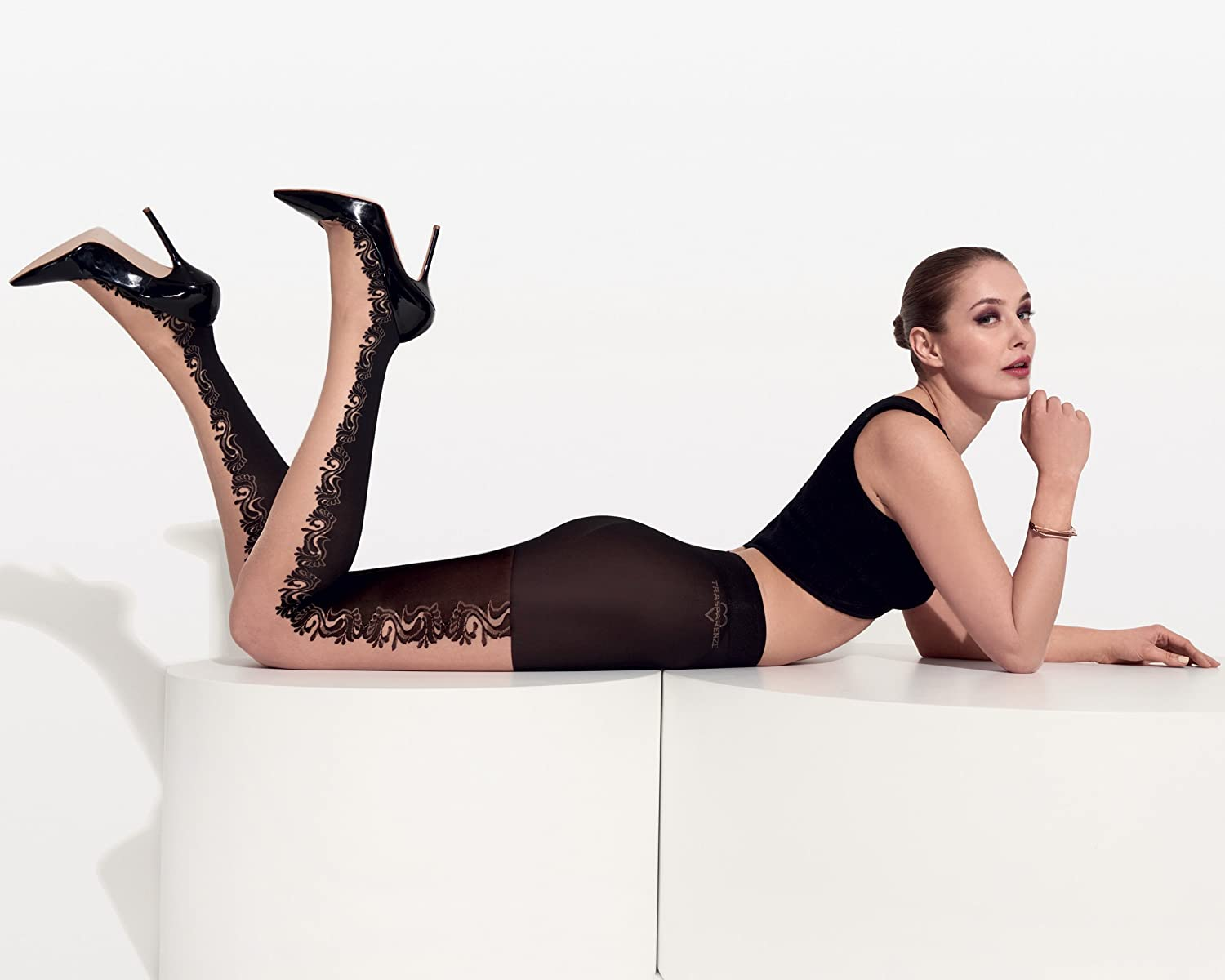 011e622eb Demme Fashion Tights Color  Cosmetic Size  1 (Small)  Amazon.co.uk  Clothing