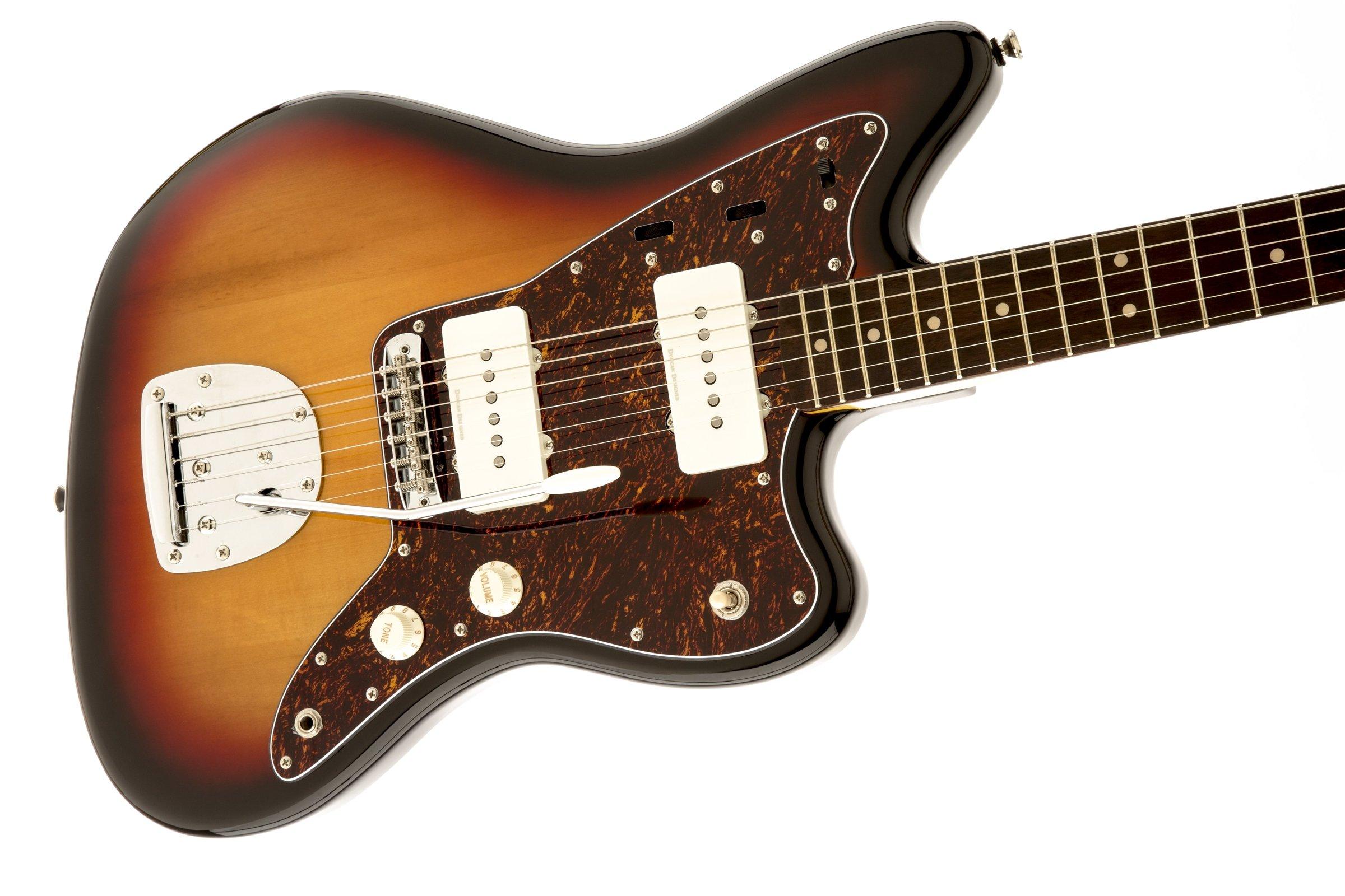squier by fender vintage modified jazzmaster electric guitar 3 color sunburst guitar affinity. Black Bedroom Furniture Sets. Home Design Ideas