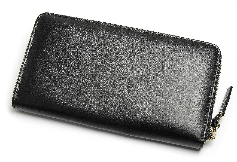 4e4a74da63ee Amazon | [ポールスミス] PaulSmith 長財布 ウォレット ラウンドファスナー イタリア製 ブラック レディース メンズ [並行輸入品]  | 財布