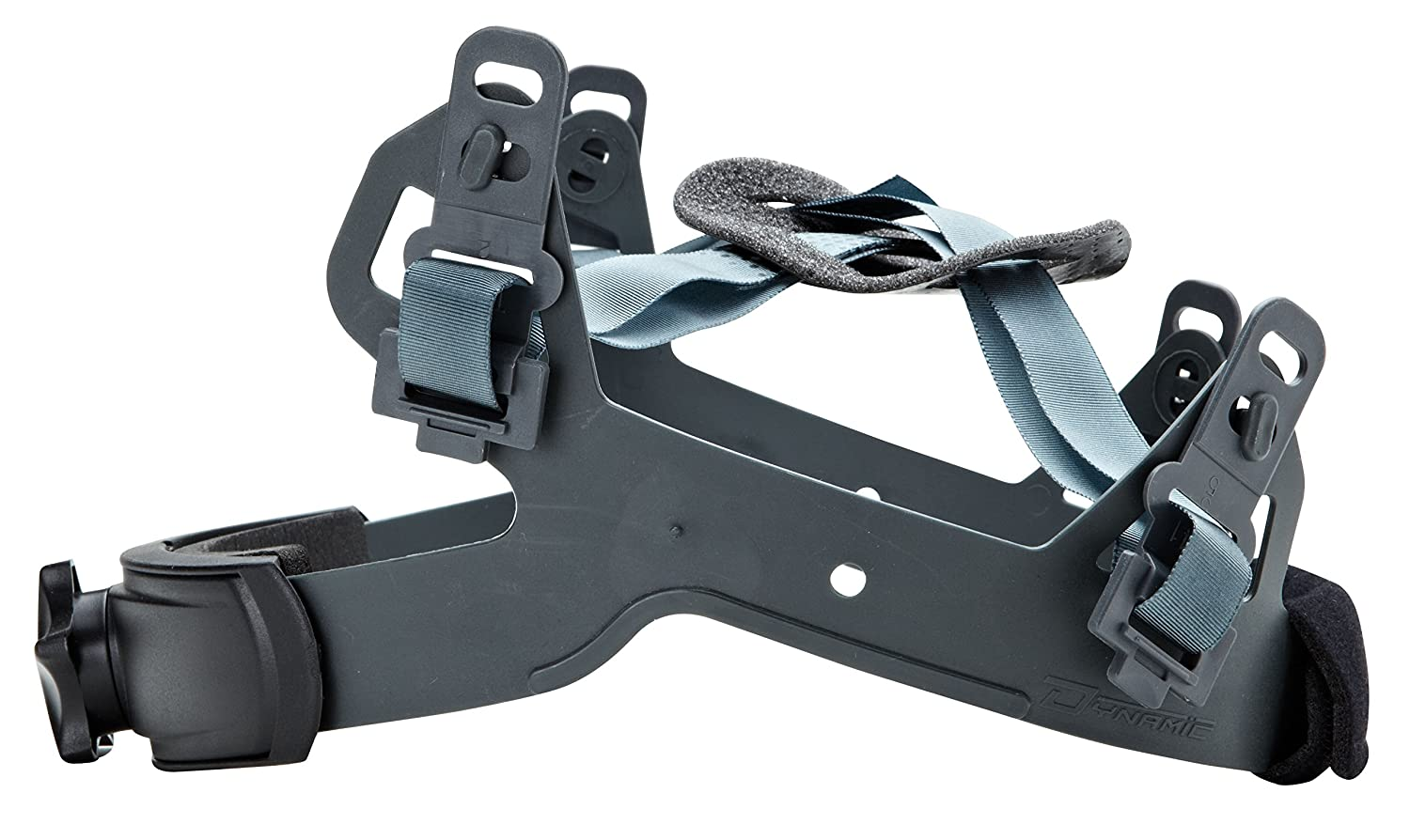 One Size Black Dynamic Safety HP241RS 4-Point Replacement Nylon Sure-Lock Ratchet Suspension