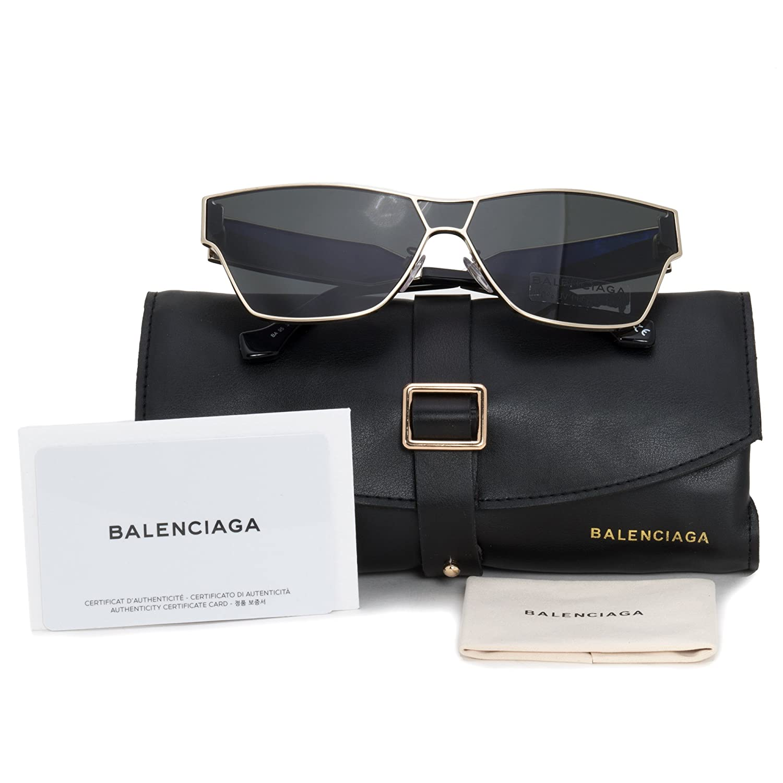 3258f01d60 Sunglasses Balenciaga BA 0095 33A gold other smoke at Amazon Men s Clothing  store
