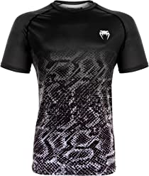 Venum Tropical Dry Tech T-shirt, Black/Grey, X-Large
