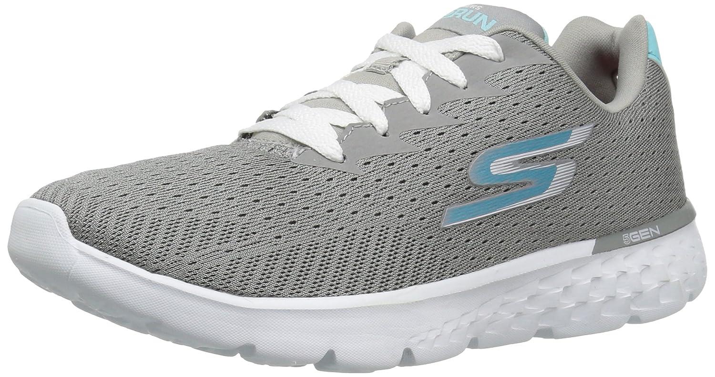 Skechers Go Run 400, Zapatillas de Deporte Exterior para Mujer 36 EU|Gray/Blue