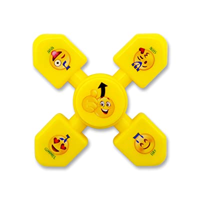 Hanukkah Dreidel Spinner (Yellow): Toys & Games