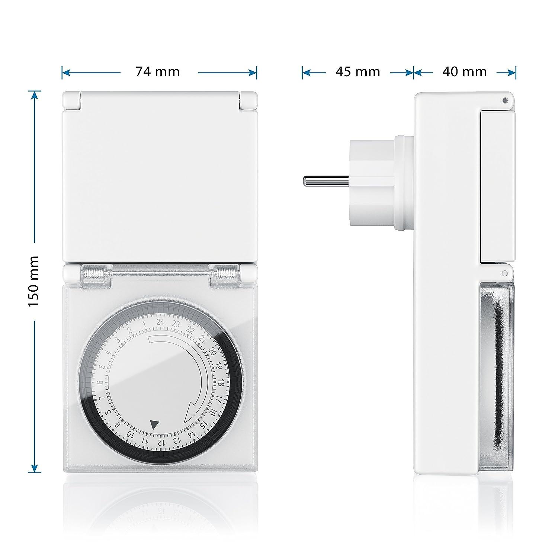 81MhBpaiC3L._SL1500_ Wunderbar Wie Funktioniert Eine Mechanische Zeitschaltuhr Dekorationen