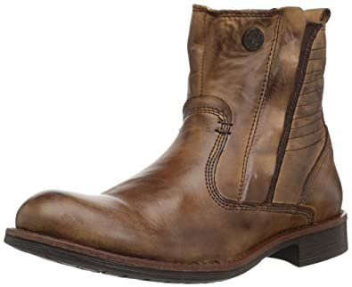 Steve Madden Men's Patten Fashion Boot, Tan Leather, ...