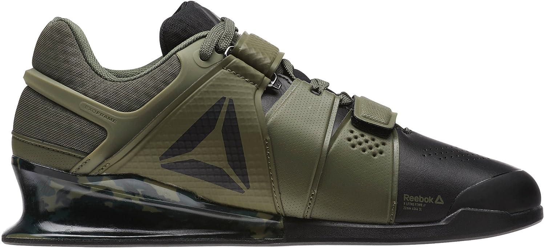 Reebok Legacy Lifter Mens Weightlifting Shoes - Green-7.5  Amazon.co.uk   Sports   Outdoors b9b0efb4d