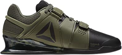 f3e6b8bf75be19 Reebok Legacy Lifter Mens Weightlifting Shoes - Green-7.5  Amazon.co ...