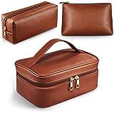 Makeup Bags ,Cosmetic Bag 3 Packs Travel Makeup Bag for Women Portable Makeup Bag Organizer Waterproof and Durable…
