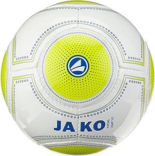 Jako Ballon de Football pour Foot en Salle Blanc/Jaune Light 3.0 Citron/Marine