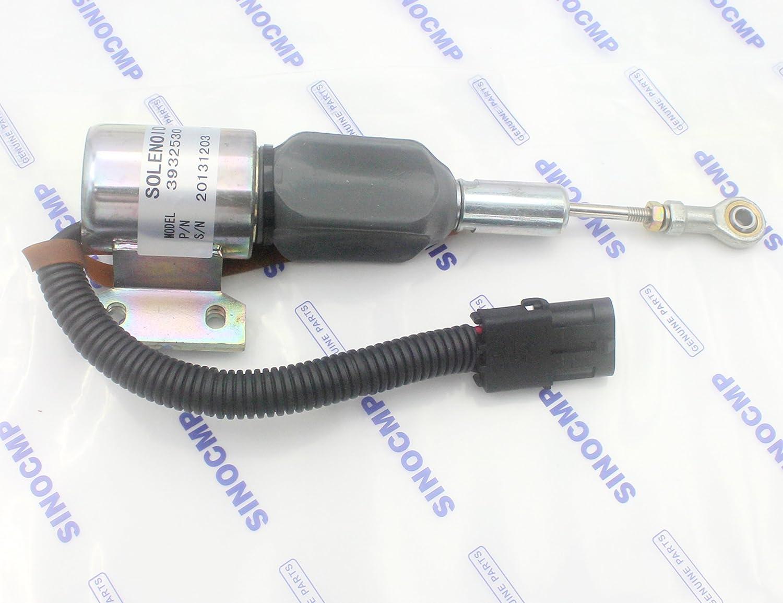 24/24/V carburant Arr/êt sol/éno/ïde pour Cummins R220 5/C4bt//6bt5.9/Engine 5.9b-c Sinocmp 3932530/Sa-4756 3/mois de garantie