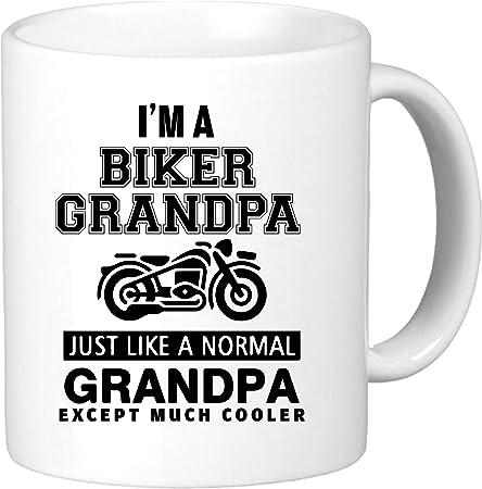 Grandpa Biker Gift