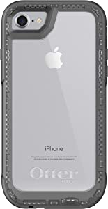 OtterBox Pursuit Series Slim Case for iPhone SE (2nd Gen)/8/7(NOT Plus) - Retail Packaging - Black/Clear