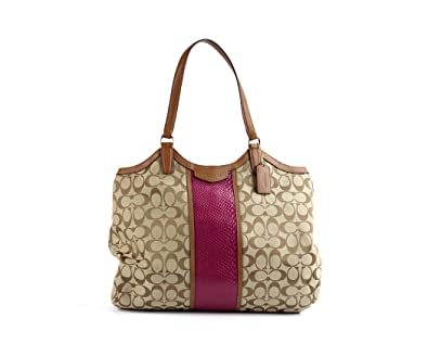 Image Unavailable. Image not available for. Color  Coach Signature  Snakeskin Shoulder Bag ... 3115d55e642b8