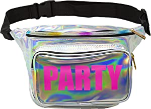 Funny Guy Mugs Holographic Party Fanny Pack- Premium Fanny Pack