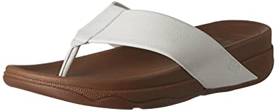 7b26a3707 FitFlop Men s Surfer (Leather) Flip Flop