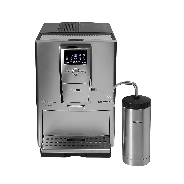 Nivona CafeRomatica 850 Máquina espresso 1.8L Plata ...