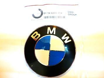 BMW E39 525i 528i 530i 540i M5 emblema 51148203864 Alemania OEM 97 - 03: Amazon.es: Coche y moto