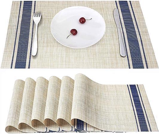 blu Tavolo da tavolo giapponese di stile Tappeto da tavola lungo per sala da pranzo tavola di t/è