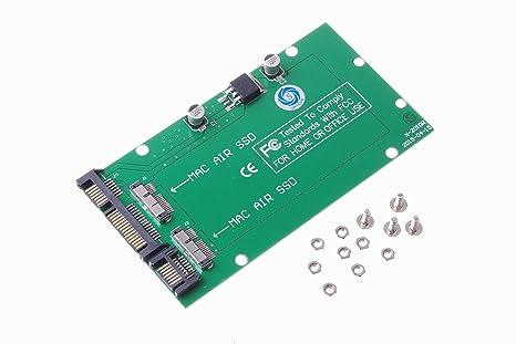 SMAKN® Micro SATA Cables - Dual Mac Air SSD a SATA Adaptador ...
