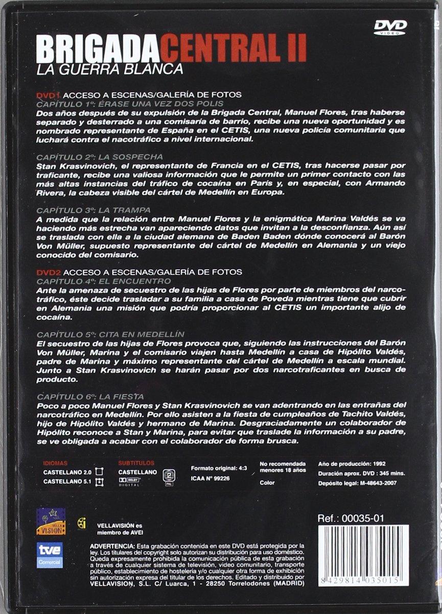 Amazon.com: Brigada Central II Temporada: La Guerra Blanca ...