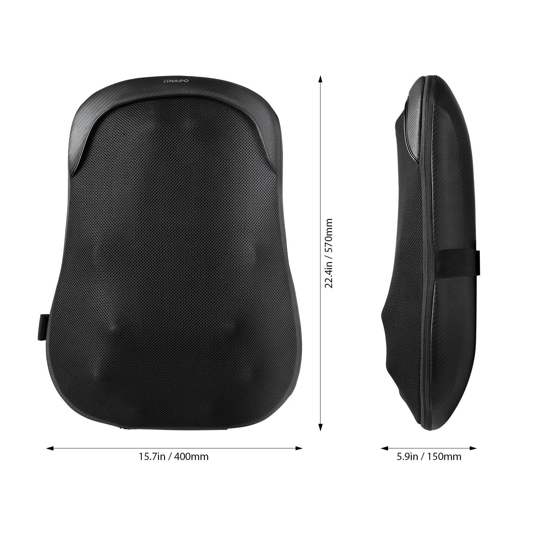 Naipo MBGK-750 Maße Naipo Massagematte Test