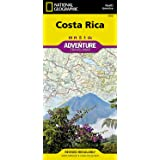 Costa Rica (National Geographic Adventure Map)