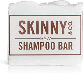 product image for SKINNY & CO. Clarifying Raw Shampoo Bar - Fragrance Free, 5 oz (Fragrance-Free, Pack of 1)