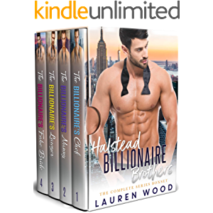 Halstead Billionaire Brothers: A Contemporary Romance Series Boxset