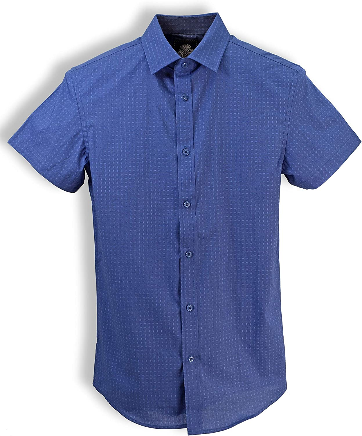 English Laundry Short-Sleeve Diamond Shirt