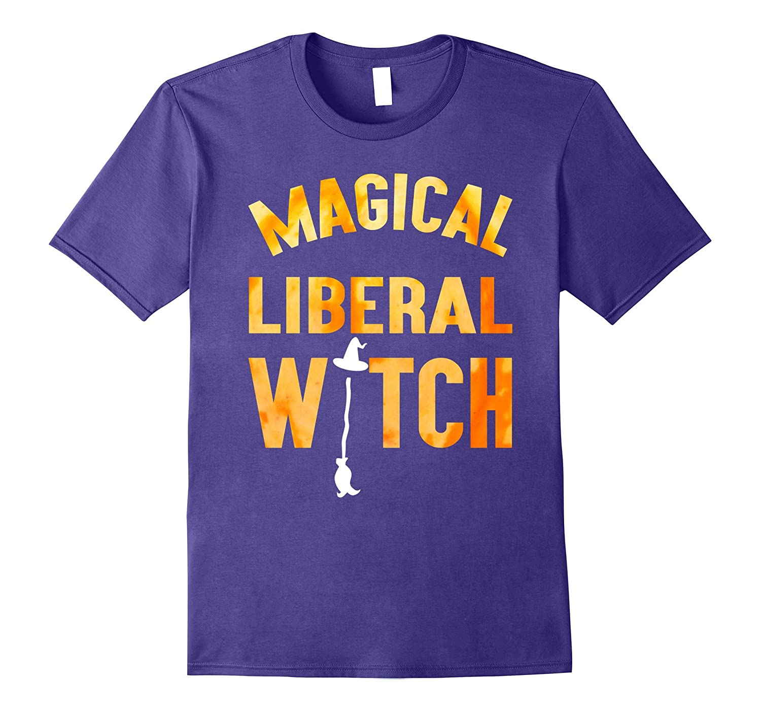 Magical liberal witch T-shirt-FL