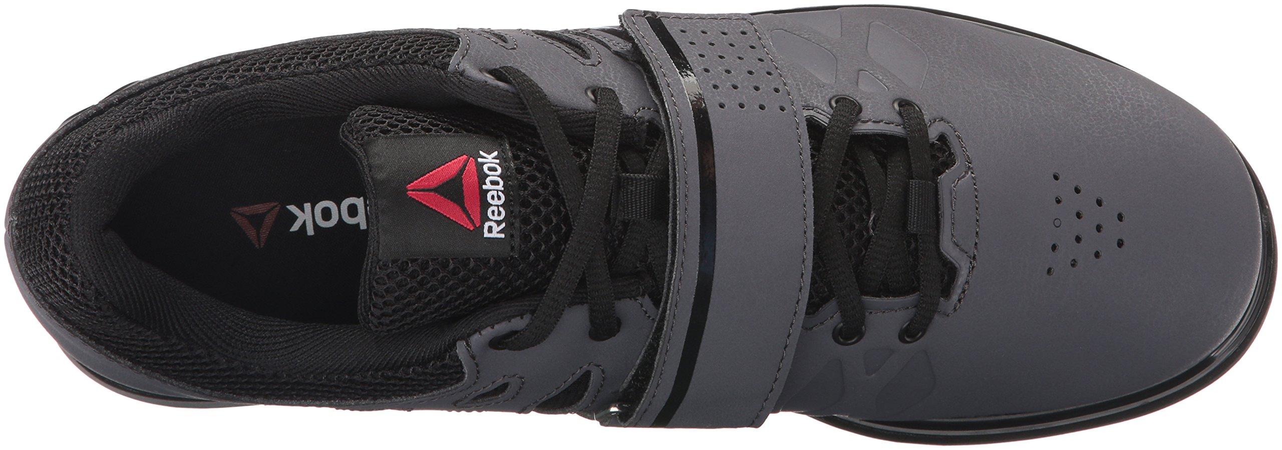 Reebok Men's Lifter Pr Cross-Trainer Shoe, Ash Grey/Black/White, 7 M US by Reebok (Image #13)