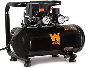 WEN 2281 1-Gallon Oil-Free Horizontal Portable Air Compressor