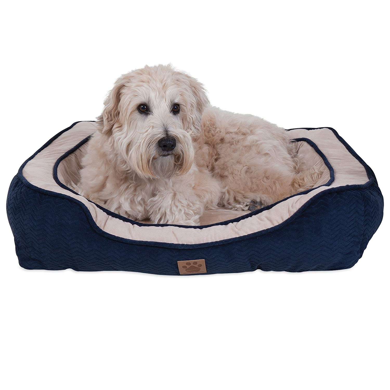 Navy 23 X 28Precision Pet Modern Daydreamer Dog Bed