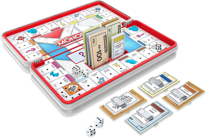 Monopoly Road Trip - Juego de Viaje (versión Francesa): Amazon.es ...