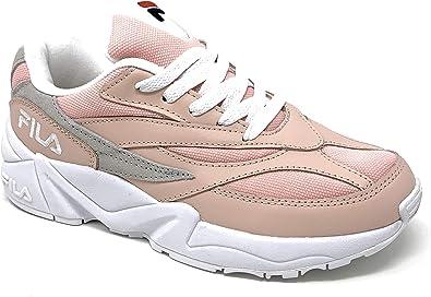 fila pink and grey