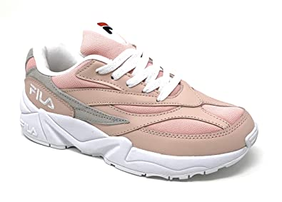 Amazon.com | Fila Women's V94M 5RM00647-662 Pink/White/Gray ...