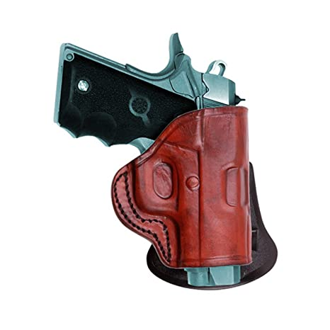 Tagua HK 45 Quick Draw Paddle Holster, Brown, Left Hand