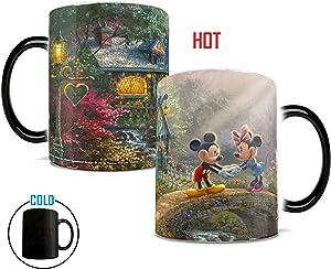 Disney - Mickey and Minnie - Sweetheart Bridge - Morphing Mugs Heat Sensitive Mug – Image revealed when HOT liquid is added - 11oz Large Drinkware