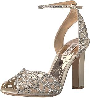 4a57f2049df Amazon.com  Badgley Mischka Women s Hines Heeled Sandal  Shoes