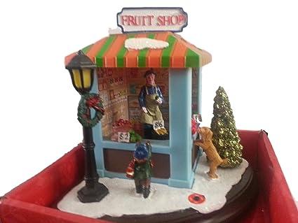 Amazon musical christmas dinaorama vintage fruit stand