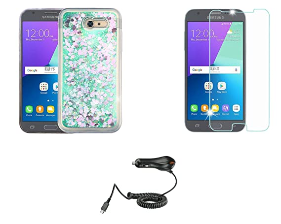 Amazon.com: Mybat Quicksand - Funda para Samsung Galaxy J3 ...