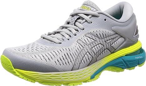Asics Gel-Kayano 25 - Zapatillas de running para mujer, Mujer, 1012A026, gris, 38: Amazon.es: Deportes y aire libre
